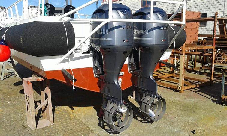 Beskyttelse av propellen gir økt sikkerhet for mennesker og annet i vannet
