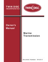 Twin Disc Owners manual REV J-bm