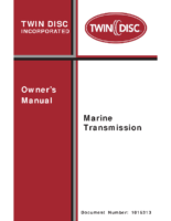 Twin Disc Owners manual REV J-bm