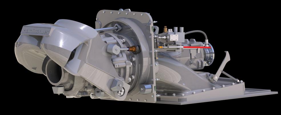Ny generasjon vannjet fra Hamilton, mindre enn en HJ322, bedre enn en HJ364…