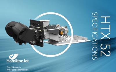 HTX52-serien er neste generasjon vannjet