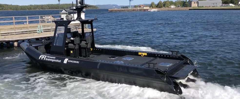 """Forsvaret og Kongsberg-gruppen bruker Hamilton på deres autonome forskningsfartøy """"Odin"""", det samme gjør fler og fler utrykningsfartøy over hele verden!"""